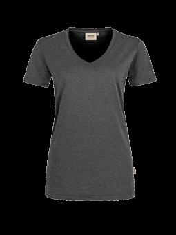 HAKRO Damen-V-Shirt Performance