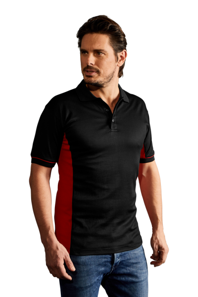 Promodoro Mens Function Contrast Polo