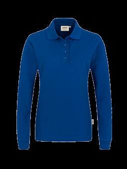 HAKRO Damen-Longsleeve-Poloshirt Performance