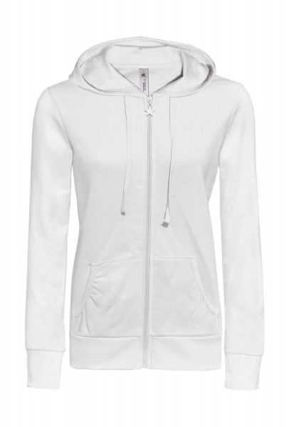 B&C Wonder/women Hooded Zip Sweat